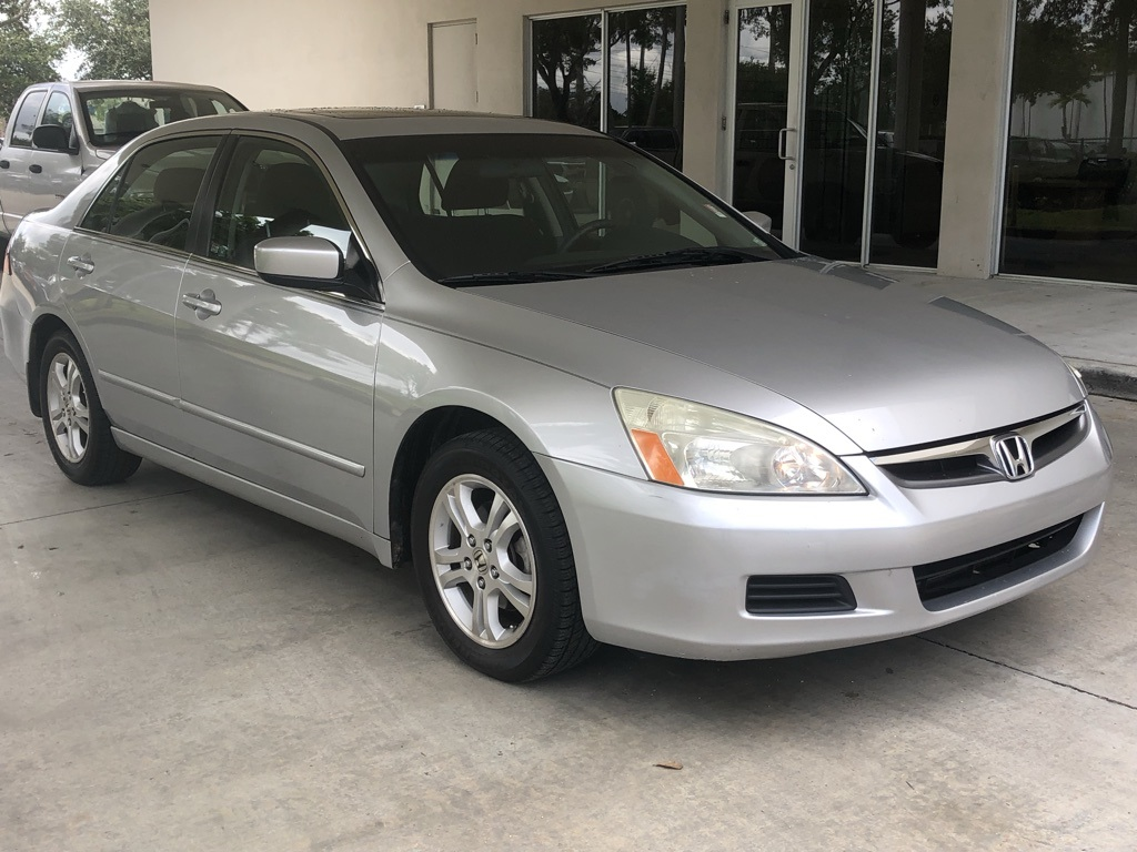 2006 Honda Accord Sedan >> In Network Pre Owned 2006 Honda Accord Ex Fwd 4d Sedan