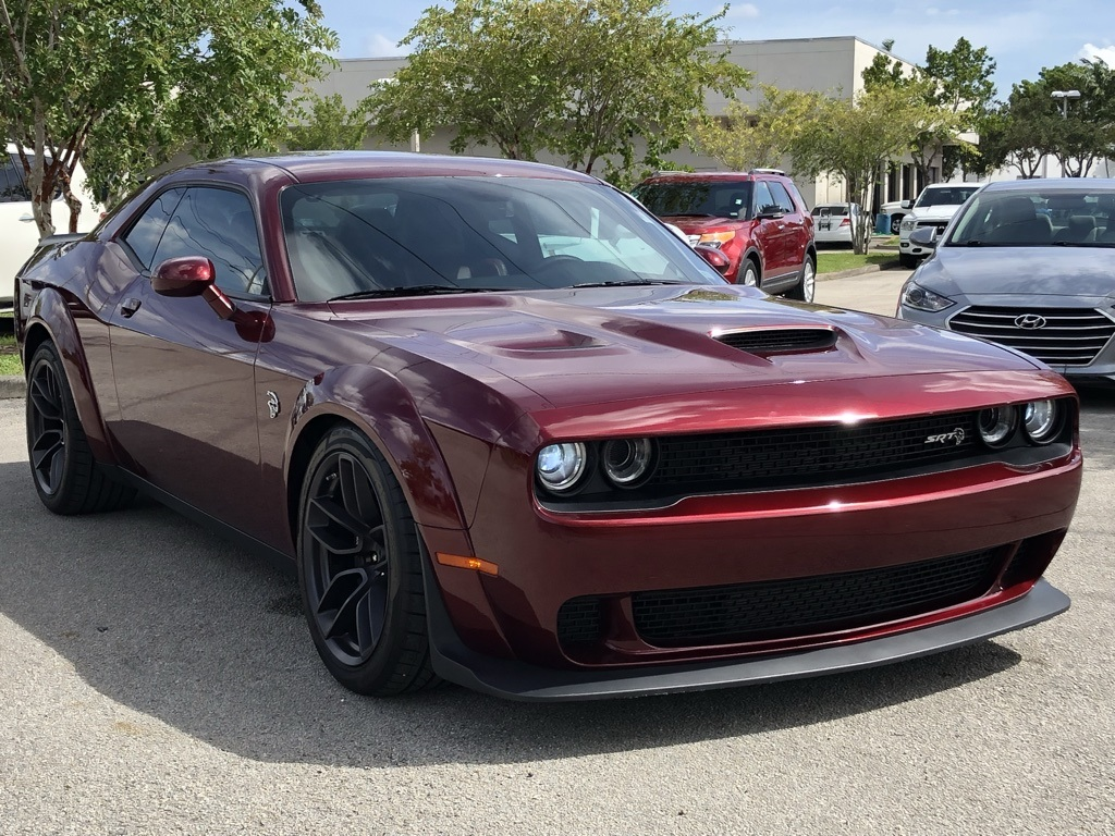 Dodge Challenger Srt Hellcat >> In Network Pre Owned 2018 Dodge Challenger Srt Hellcat Rwd 2d Coupe