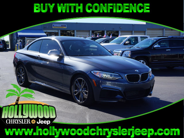 PreOwned BMW Series Mi Mi Dr Coupe In Hollywood - 2014 bmw m235i