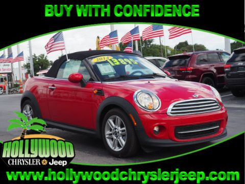 Pre-Owned 2015 Mini Cooper Roadster Convertible